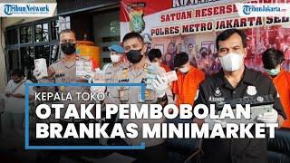 Brankas Minimarket di Pancoran Dibobol Maling, Ternyata Kepala Toko Ikut Terlibat