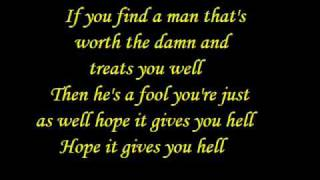 Gives You Hell - All American Rejects ( with lyrics )
