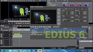 Edius 6 Video Editing Basic Tutorial