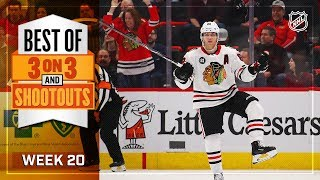 Best 3-on-3 OT and Shootout Moments from Week 20