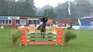 Our rider René Dittmer wins 25.000€ 6-year-old-final in Dobrock with Crossover