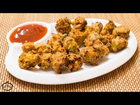 Sanna Pakoras Recipe – Crunchy Onion Fritters   Sindhi Snack Recipe
