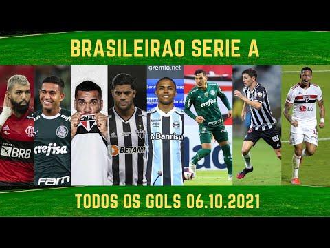 Gols do Brasileirao 06.10.21 #futebol