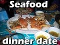 Seafood Dinner Date - YouTube
