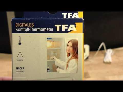Teich Thermometer mit 3m Kabelsonde