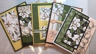 More Magnolia Cards