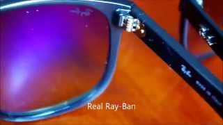 Ray Ban Original RB 4147 60132 Unboxing (Real Vs Fake)