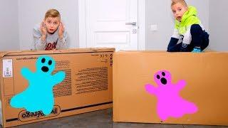 Открываем ЗАГАДОЧНЫЕ посылки!!!От кого и что внутри???Mysterious huge parcels !!!