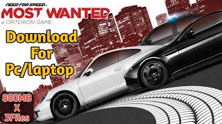 Need for Speed Most Wanted 2012 for PC/Laptop || 100% Working || Direct Download