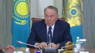 Назарбаев провел встречу с Умирзаком Шукеевым