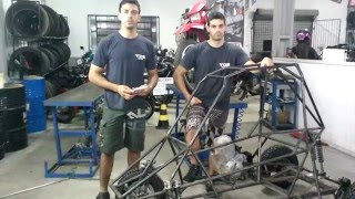 Kart Cross Construção Artesanal FASE 25 - Rodas E Pneus