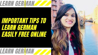 Learn German Free and easily  Ways to Learn and Improve German Yourself  German for Beginners