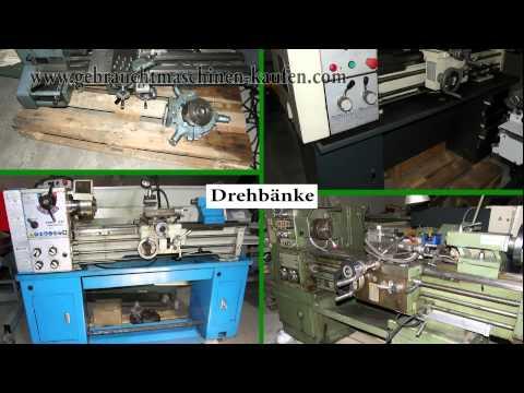 gebrauchte Drehmaschinen, Drehbänke und Metalldrehbänke zum bearbeiten von Stahl, Kupfer, Niro