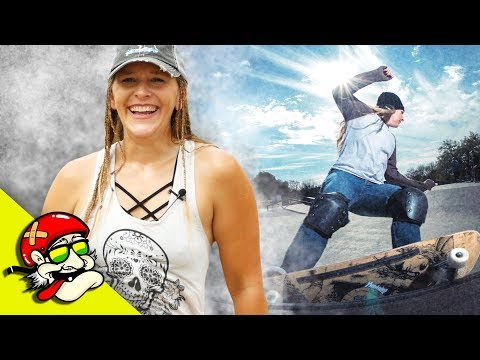 SURFER GIRL Learned to SKATEBOARD OVER 40