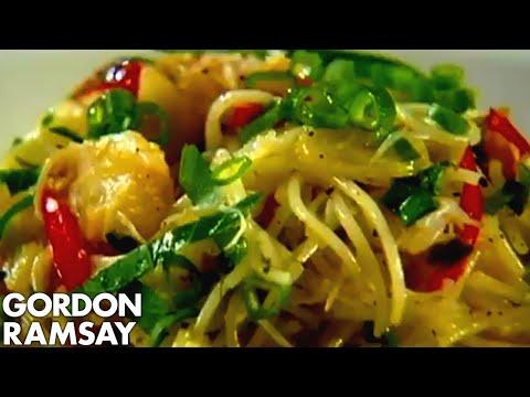 Těstoviny s krabím masem podle Gordona Ramsayho