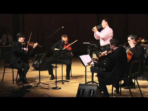 "Julien Labro with Spektral Quartet: ""Il Postino"" Main Theme"
