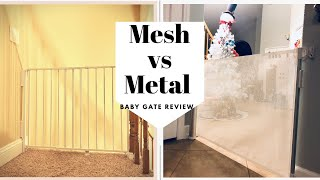 Beberoad baby gate vs Regalo traditional metal stair gate review