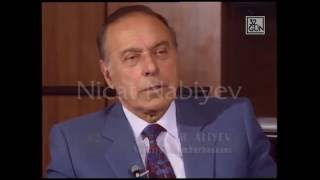 Heydər Əliyevin 1992-ci ildə Türkiyə kanalına verdiyi müsahibə.