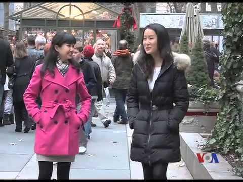 走进美国:纽约东方女白领的美漂生活 (上)(下) || VOA