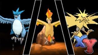 Articuno  - (Pokémon) - Legendary Articuno/Zapdos/Moltres Encounter (How to Catch) - Pokemon X and Y