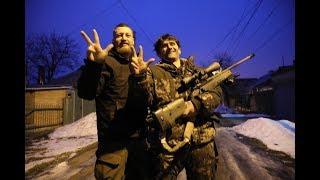 Снайпер ДНР Деки показал купленные у ВСУ винтовки