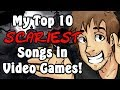 Top 10 Scariest Songs in Video Games! - Caddicarus