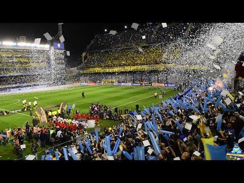 """""""[#DESDELATRIBUNA] Boca jrs. vs River Plate - Copa Libertadores 2019"""" Barra: La 12 • Club: Boca Juniors • País: Argentina"""