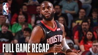 TIMBERWOLVES vs ROCKETS | Houston Knocks Down 21 Three-Pointers | March 17, 2019
