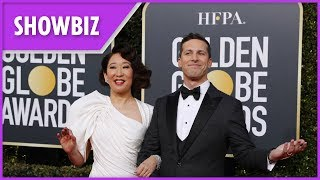 Golden Globes: Best gags made by hosts Andy Samberg and Sandra Oh