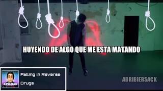 Falling In Reverse Ft Corey Taylor   DRUGS | Sub Español ♪ [AUDIO OFICIAL]