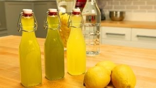 Homemade Limoncello Recipe 3 Ways | Edible Gift Ideas | Food Gift Guide