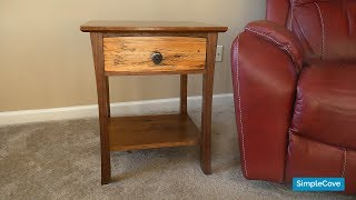 How To Make Custom Walnut End Tables | How-To Woodworking
