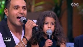 تحدي محمد نور مع أولاده في معكم منى الشاذلي