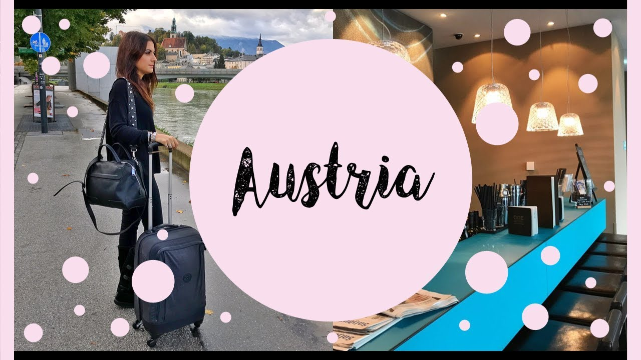 2018 Travel Vlog: Austria + My Stay At Hotel: Motel One Austria