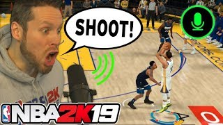 Can you play NBA 2K19 with Voice Commands?