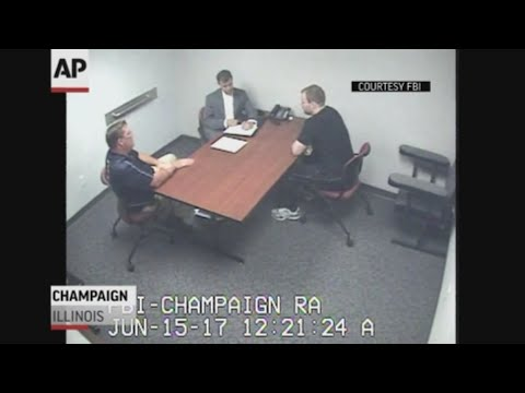 A detective testified that the former Univ. of Illinois doctoral student charged in the slaying of a visiting Chinese scholar trembled when confronted with inconsistencies in his story. The FBI released video of the questioning session. (June 18)