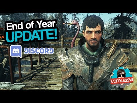 2017 End of Year Update – Discord Server & Build Reviews