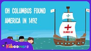 Columbus Day   Song Lyrics   Song for Kids   Preschool Songs