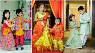 Latest Kids Matching Dress || Brother And Sister Matching Outfits Ideas-Crazy About Fashion.