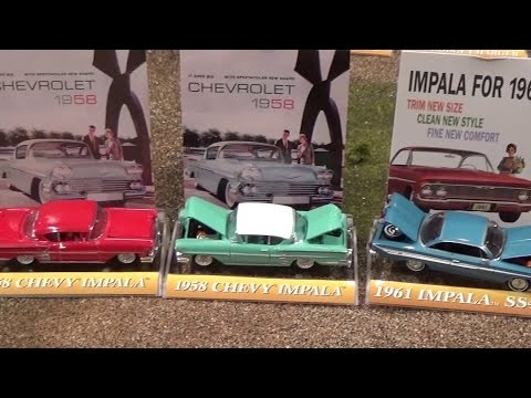 ERTL American Muscle Cars - toy collection unboxing