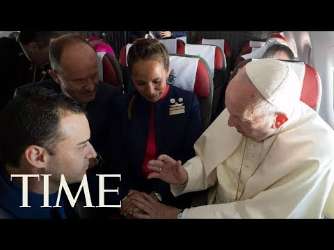 Pope Francis Performs First Airborne Papal Wedding During Flight In Chile | TIME