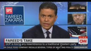Fareed Zakaria's Take The Trump Presidency is a danger to Democracy