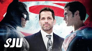 Siiick Stuff We Learned From Zack Snyder's Batman v Superman Commentary | SJU