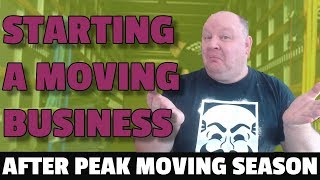 Should You Start A Moving Company After Peak Moving Season?