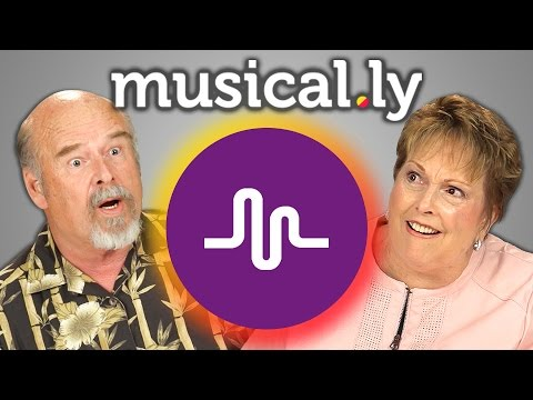 ELDERS REACT TO MUSICAL.LY
