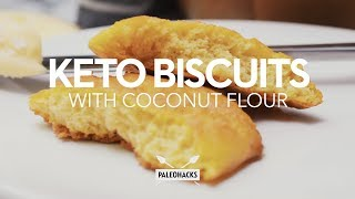 paleo biscuits with coconut flour