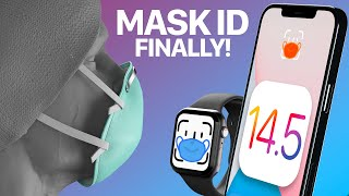 iOS 14.5 Beta 1! Mask Unlock & 30+ Features/Changes