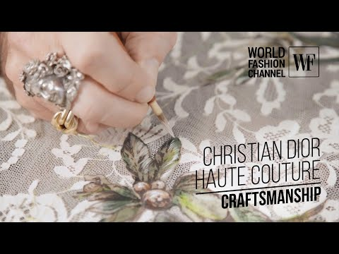 Christian Dior Haute Couture   Craftsmanship   Part 2