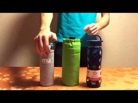 Lifefactory, Emil & Miu Color Glas - Trinkflaschen im TEST - TRINKFLASCHE-GLAS.DE