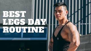 Tập Chân Sao Cho Hiệu Quả   Legs Day & Tips